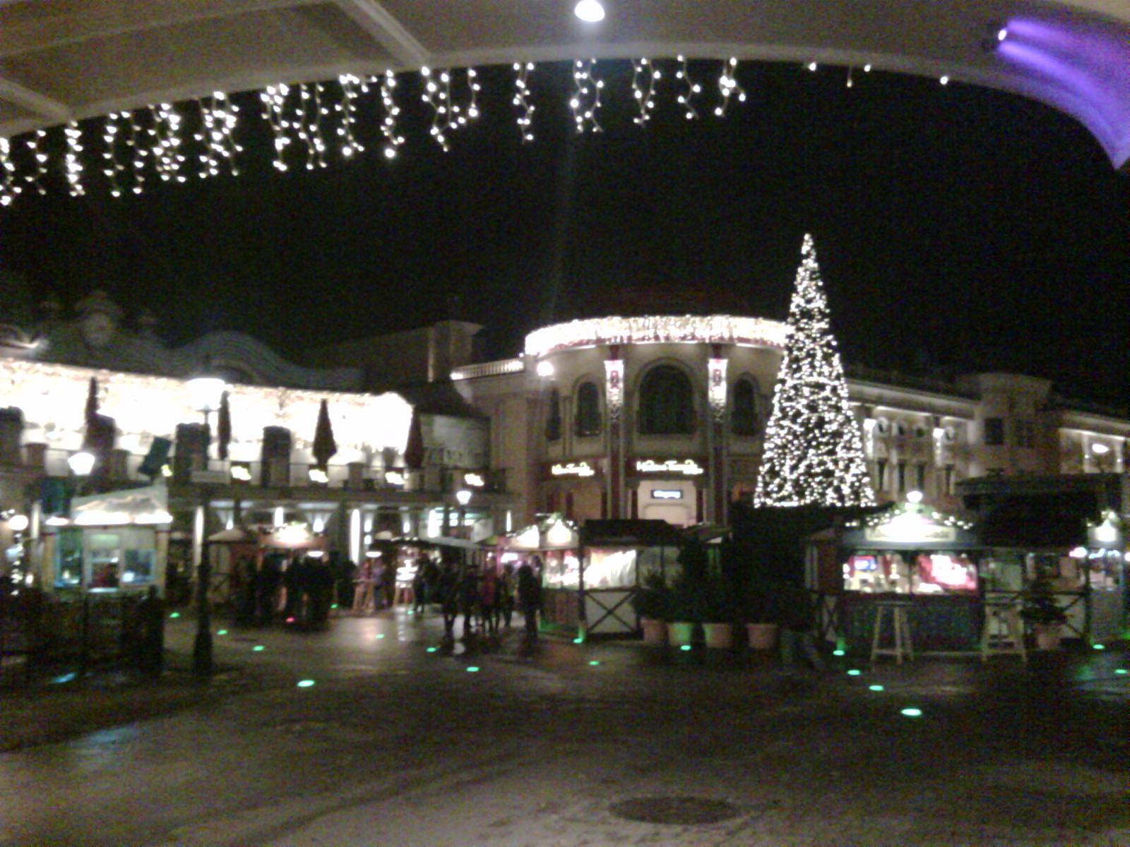 Wintermarkt am Prater / Wien