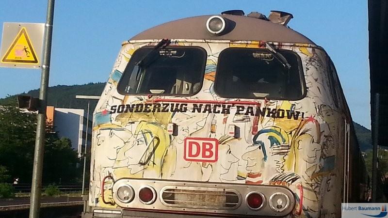 Bahnhof-Miltenberg-alter-Zug