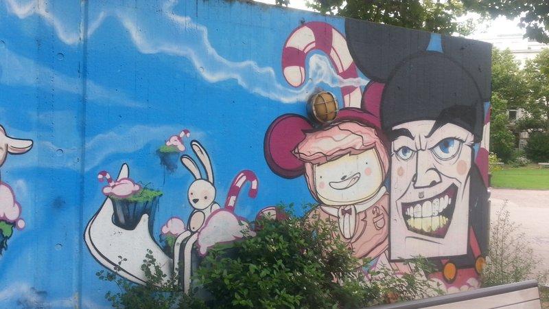 Graffiti Wiesbaden Kochbrunnen Kinderspielplatz 003