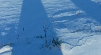Winterspaziergang in Hessenthal - Schatten