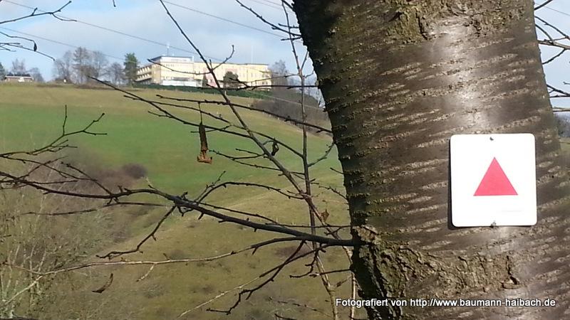 Blick auf das Hotel - Rundweg am Klingerhof