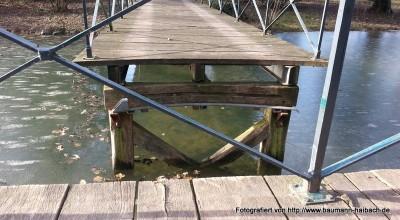 Drehbrücke im Park Schönbusch - Aschaffenburg