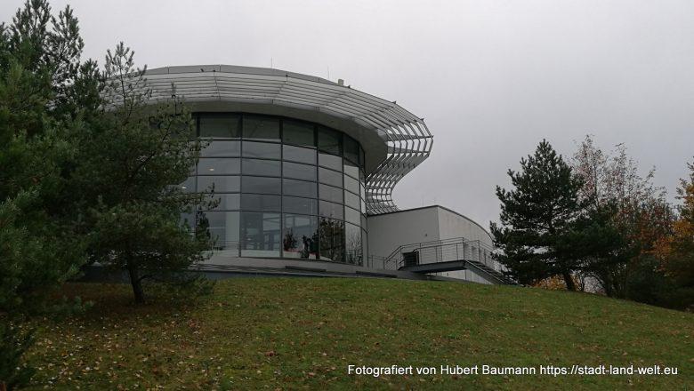 Kisssalis Therme Bad Kissingen / Blick vom Parkplatz - Wohnmobilstellplatz