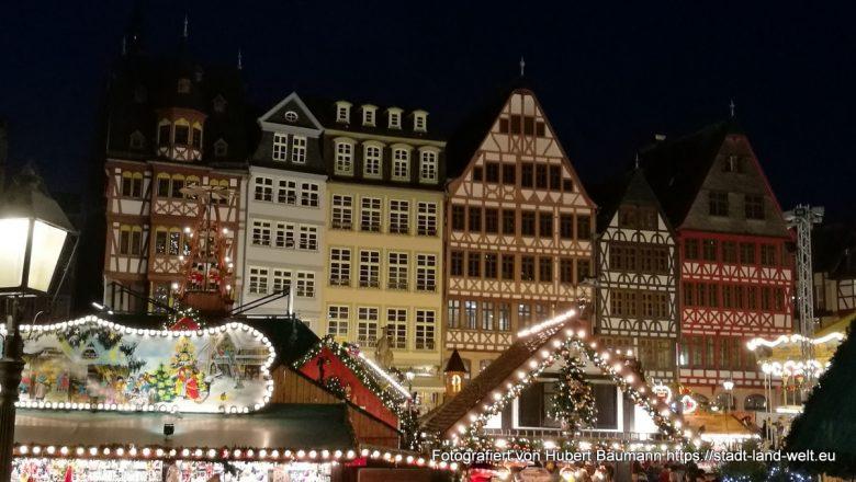 Frankfurt Weihnachtsmarkt, Römerberg