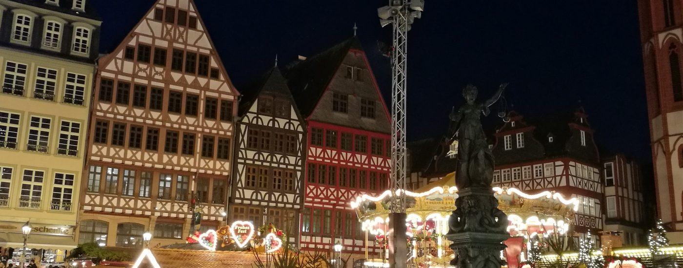 Weihnachtsmarkt Frankfurt / Main am Römerberg
