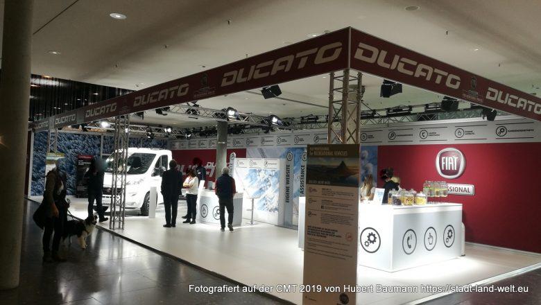 CMT Messe Stuttgart 2019 - Fiat Ducato Stand