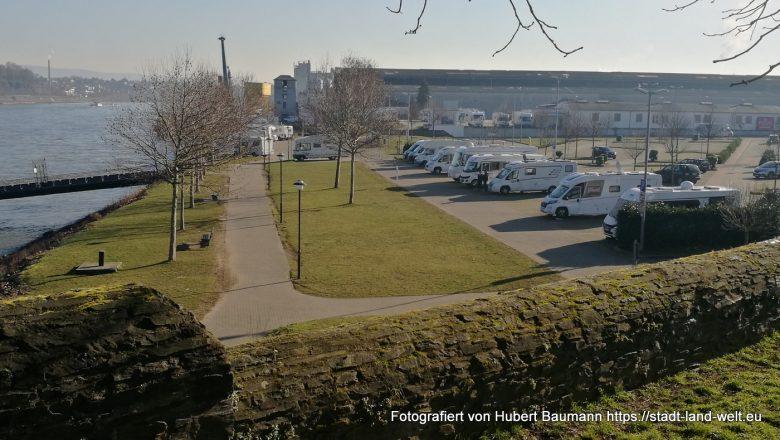 Wohnmobilstellplatz Andernach am Rhein