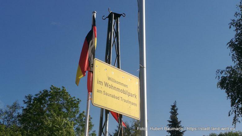 Wohnmobilstellplatz Erfurt (Saunabad Trautmann)